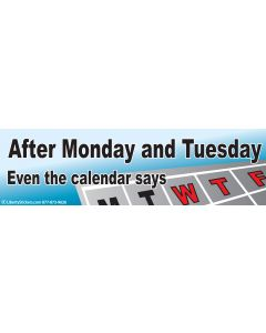 After Monday and Tuesday Even the Calendar Says WTF