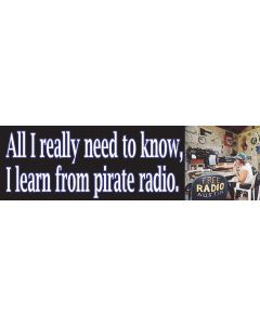 All I Really Need to Know I Learned From Pirate Radio