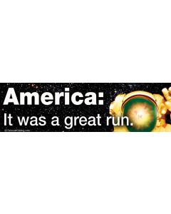 America: it was a Great Run.