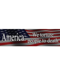 America We Torture People to Death