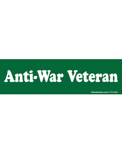 Anti-War Veteran