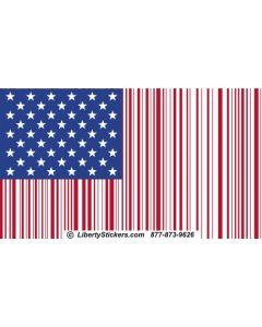 Bar Code American Flag