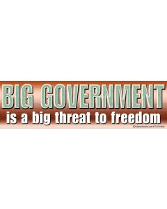 Big Government is a Big Threat to Our Freedom