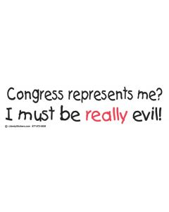 Congress represents me?