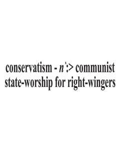 Conservatism Noun