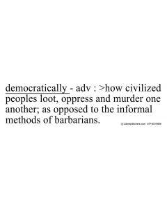 Democratically Adv