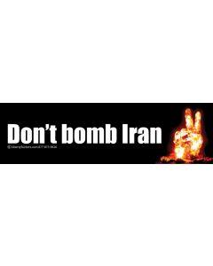Don't Bomb Iran V2
