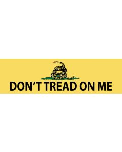 Don't Tread On Me with Snake