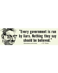 Every Government is Run by Liars