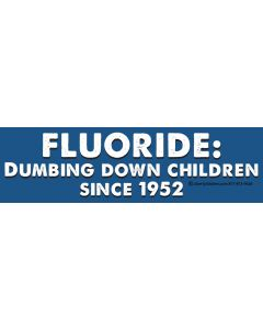 Fluoride Dumbing Down