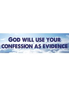 God Will Use Your Confession
