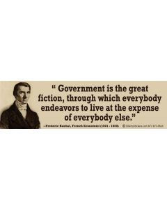 Government is the Great Fiction