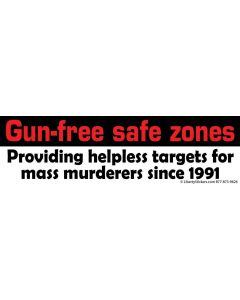 Gun Free Safe Zones