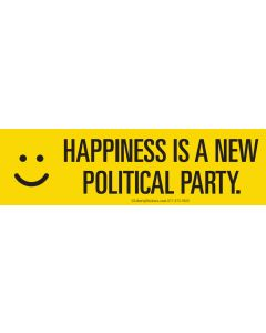 Happiness is a New Political Party
