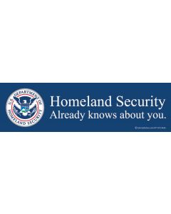 Homeland Security Already Knows About You