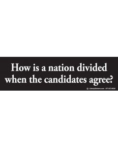 How is a Nation Divided