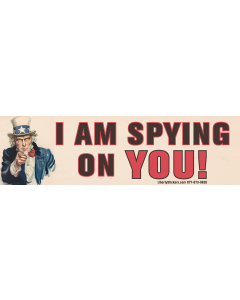 I am Spying On You!