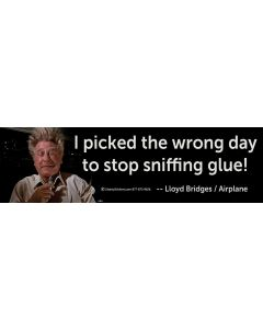 I Picked the Wrong Day to Stop Sniffing Glue