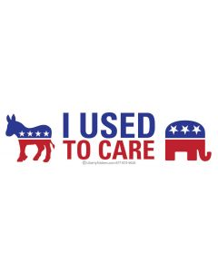 I Used to Care