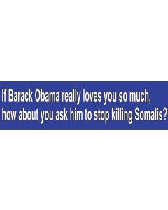If Barack Obama Really Loves You