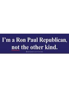 I'm a Ron Paul Republican