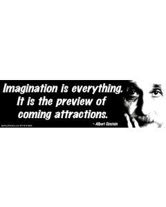 Imagination is everything - Albert Einstein
