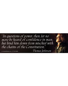 In Questions of Power (Thomas Jefferson)