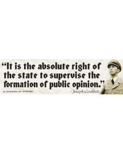 It is the Absolute Right of the State