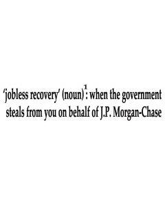 Jobless Recovery Noun 1