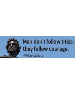 Men Don't Follow Titles