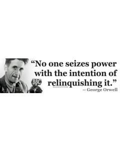 No One Seizes Power (George Orwell)