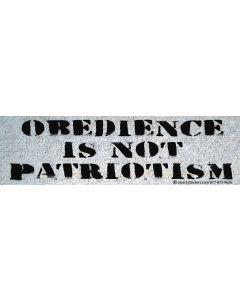 Obedience is Not Patriotism