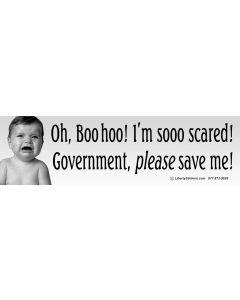 Oh Boo Hoo I'm Sooo Scared