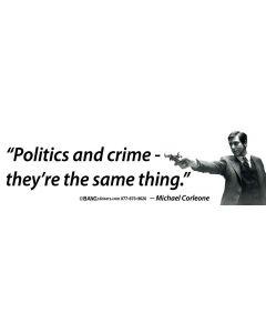 Politics and Crime
