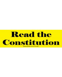 Read the Constitution (Yellow)