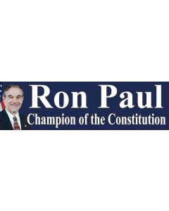 Ron Paul Champion of the Constitution