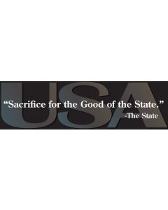 Sacrifice for the Good of the State