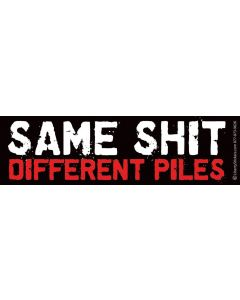 Same Shit Different Piles - Text Only