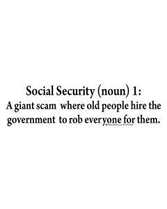 Social Security Noun 1