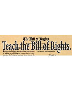 Teach the Bill of Rights