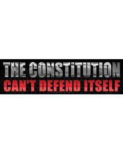 The Constitution Can't Defend Itself